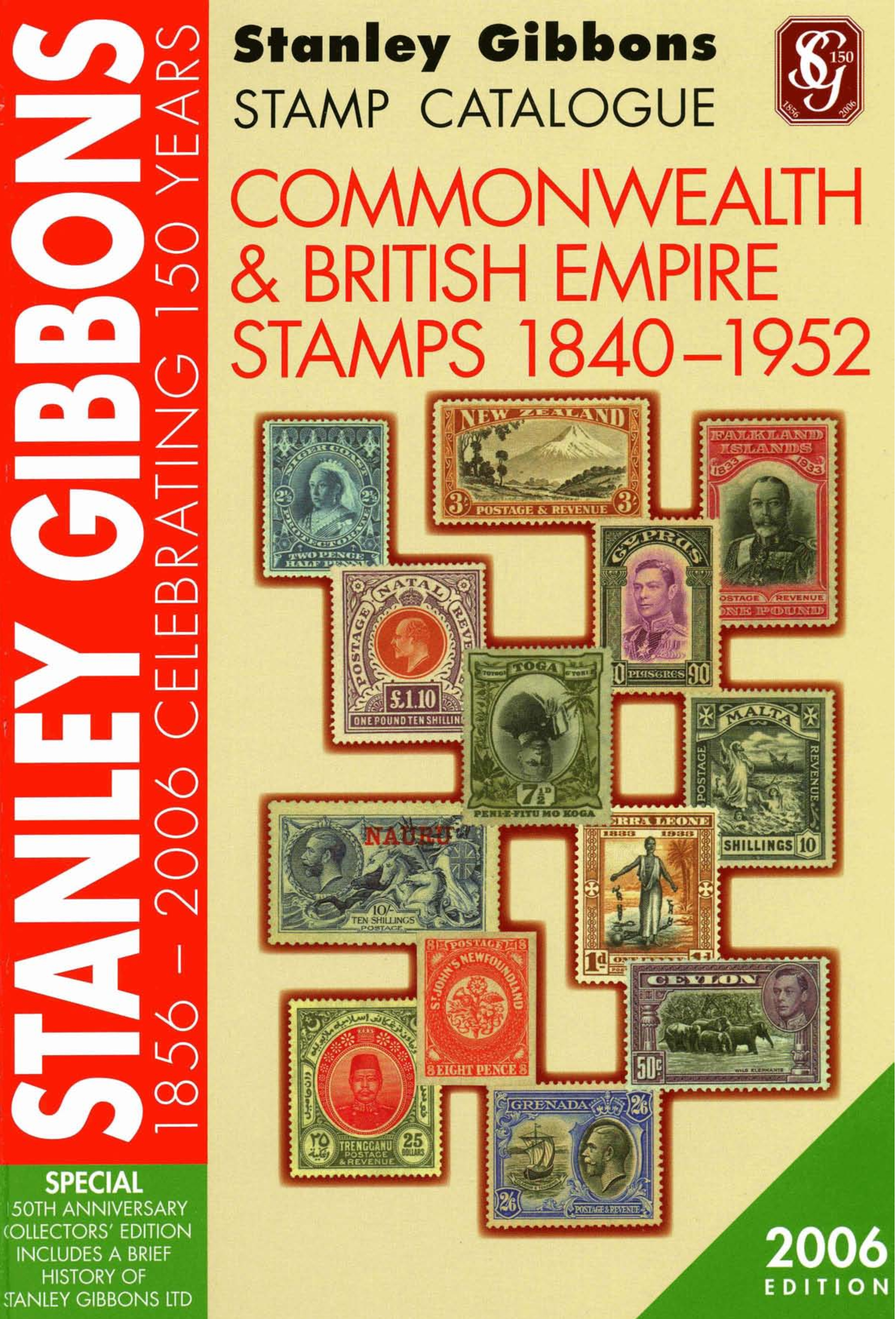 Stanley Gibbons Commonwealth Catalogue (1940-1952), 2006 edition