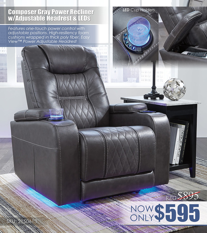Composer Gray LED Recliner_21506-13-T217-811