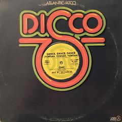 CHIC:DANCE, DANCE, DANCE,(YOWSAH, YOWSAH, YOWSAH)(JACKET A)
