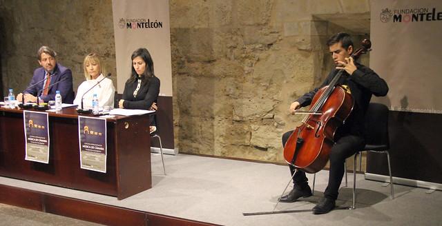 "PRESENTACIÓN DEL IX FESTIVAL INTERNACIONAL DE MÚSICA DE CÁMARA ""FUNDACIÓN MONTELEÓN"" 24.10.18"