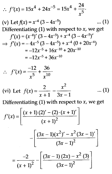 NCERT Solutions for Class 11 Maths Chapter 13 Limits and Derivatives 81