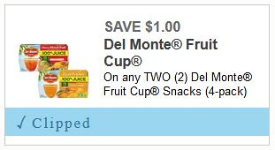 photo relating to Del Monte Printable Coupons referred to as Fresh new Del Monte Fruit Discount codes: 4pks Fruit Cups Basically $1.50 at