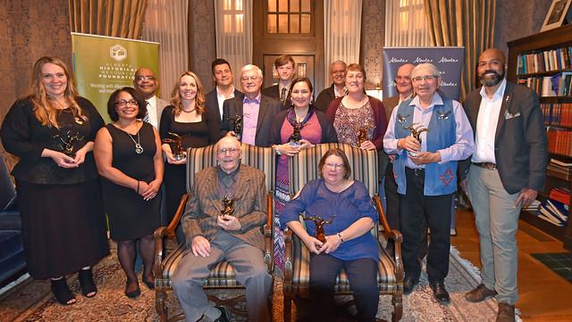 Awards recognize heritage preservation efforts