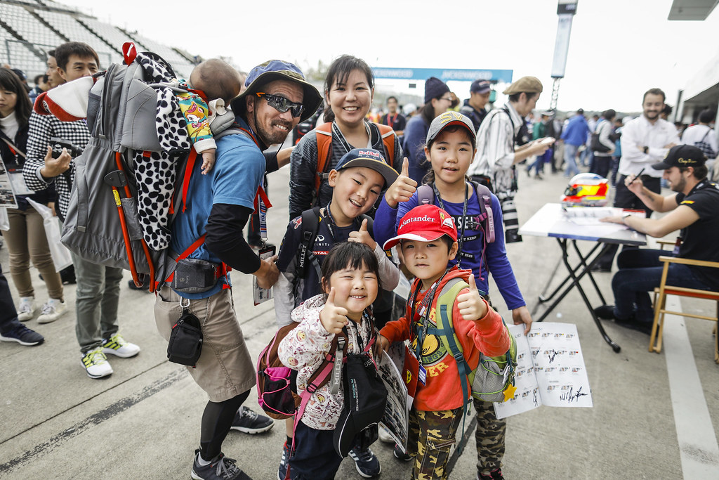fan supporter during the 2018 FIA WTCR World Touring Car cup of Japan, at Suzuka from october 26 to 28 - Photo Francois Flamand / DPPI