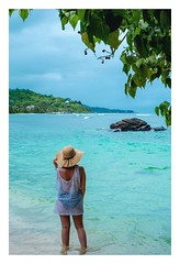 #Seychelles #beach #travel #nature #ocean #tropical #sun #lagon #fujifilm #picture #bluesea #africa