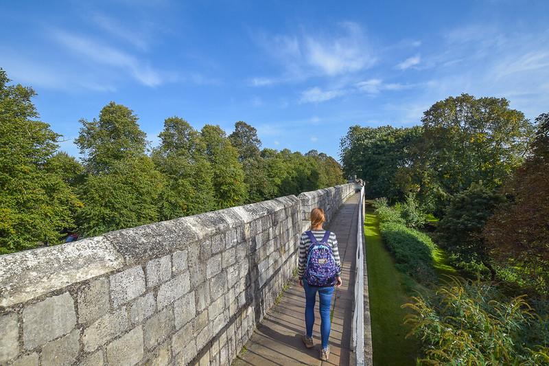 York - Walking walls of York