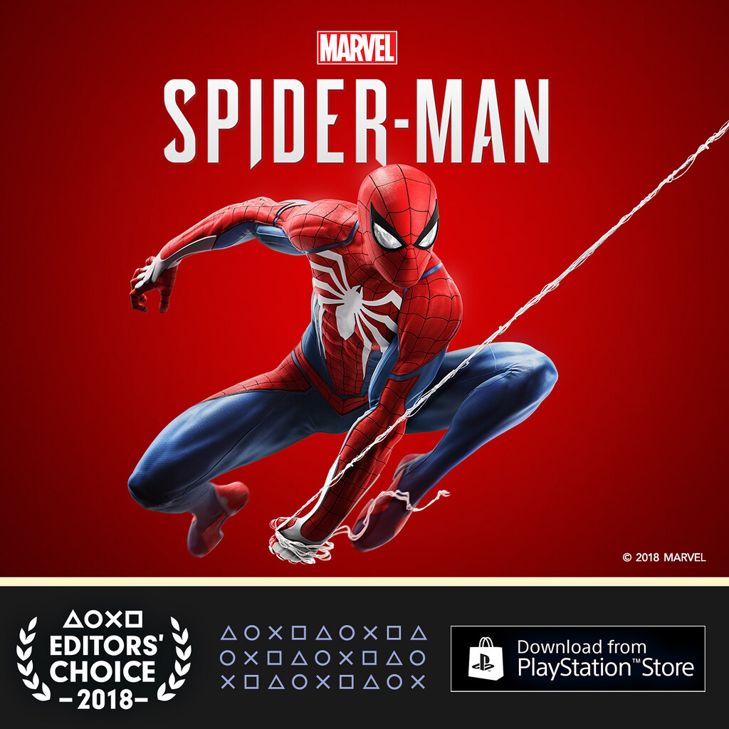 PlayStation Editor's Choice Q3 2018: Marvel's Spider-Man