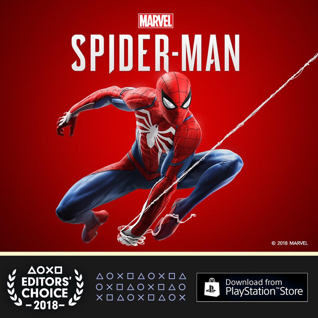 PlayStation Editor's Choice Q3 2018: Marvel's Spider-Man