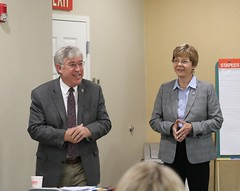 Reps. Storms and Zawistowski hosted a conversation with the Bradley Regional Chamber of Commerce featuring representatives from the Department of Economic and Community Development