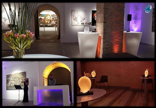 iluminacion galeria arte