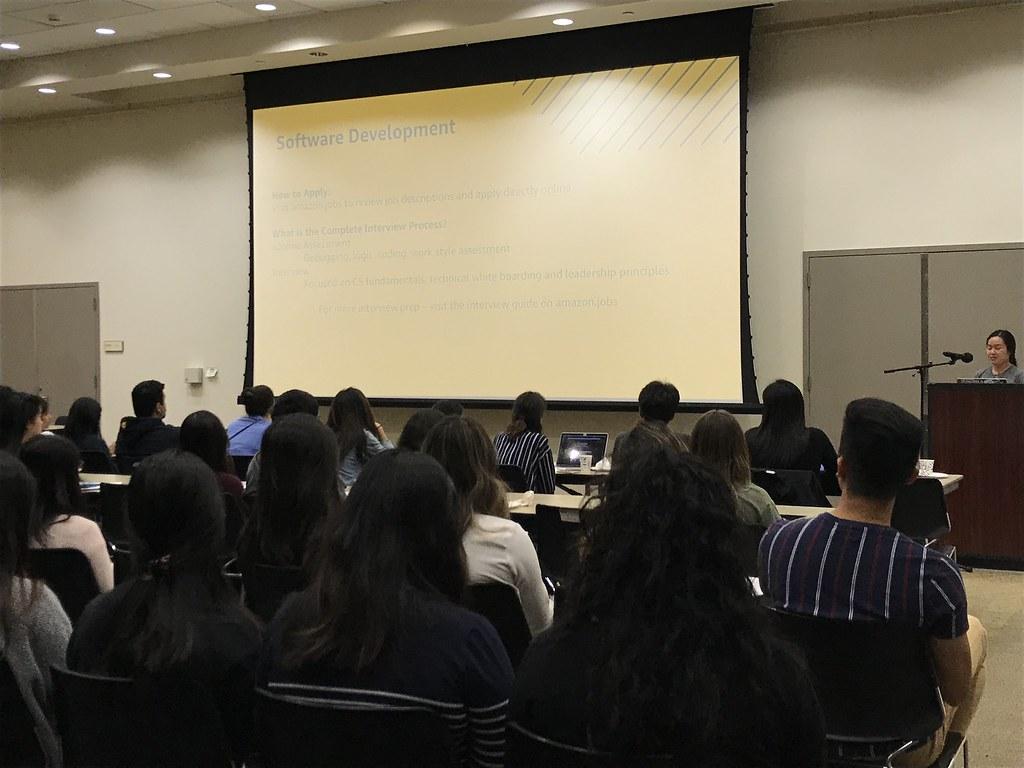 WICS Fall Quarter Week 3: Amazon Workshop – Women in Information and