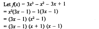 RD Sharma Mathematics Class 9 Solutions Chapter 6 Factorisation of Polynomials