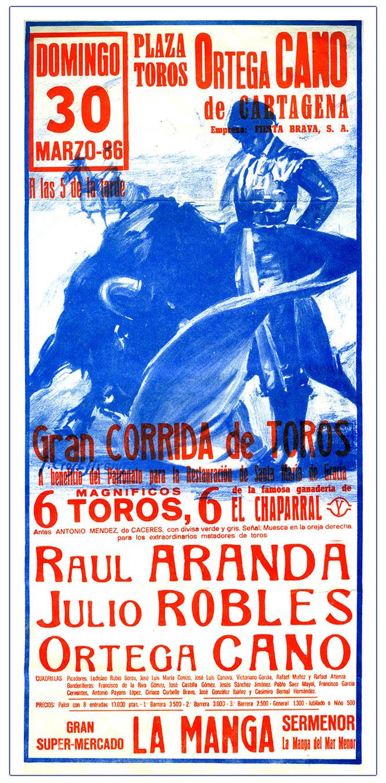 Última tarde en la plaza de toros de Cartagena