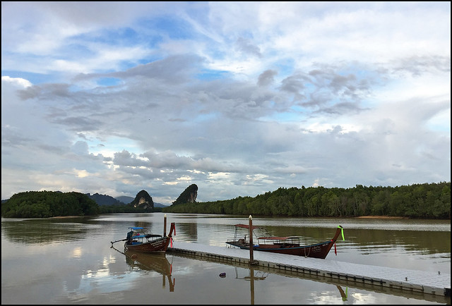 Krabi River early evening