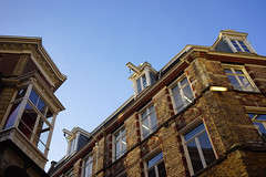 Blue sky over Kalverstraat