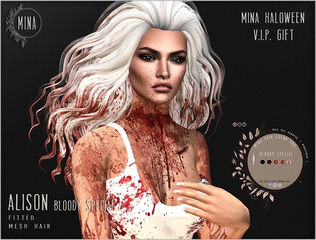 MINA VIP gift – Alison for Halloween
