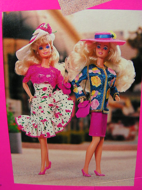 1989 Barbie Paris Pretty Fashion 6558 Assort. 762 (6)