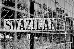 Panneau Swaziland N&B