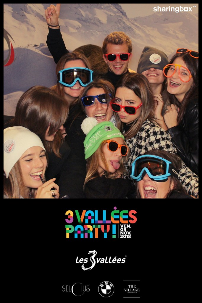 3 VALLÉES PARTY LYON 2018 - Photobooth