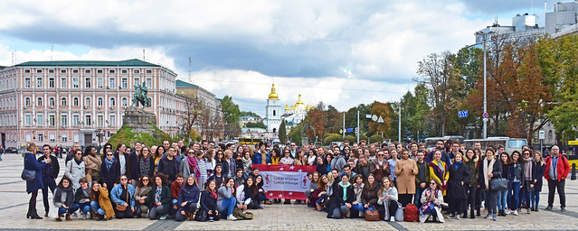 First semester Study Trip to Ukraine for Natolin students