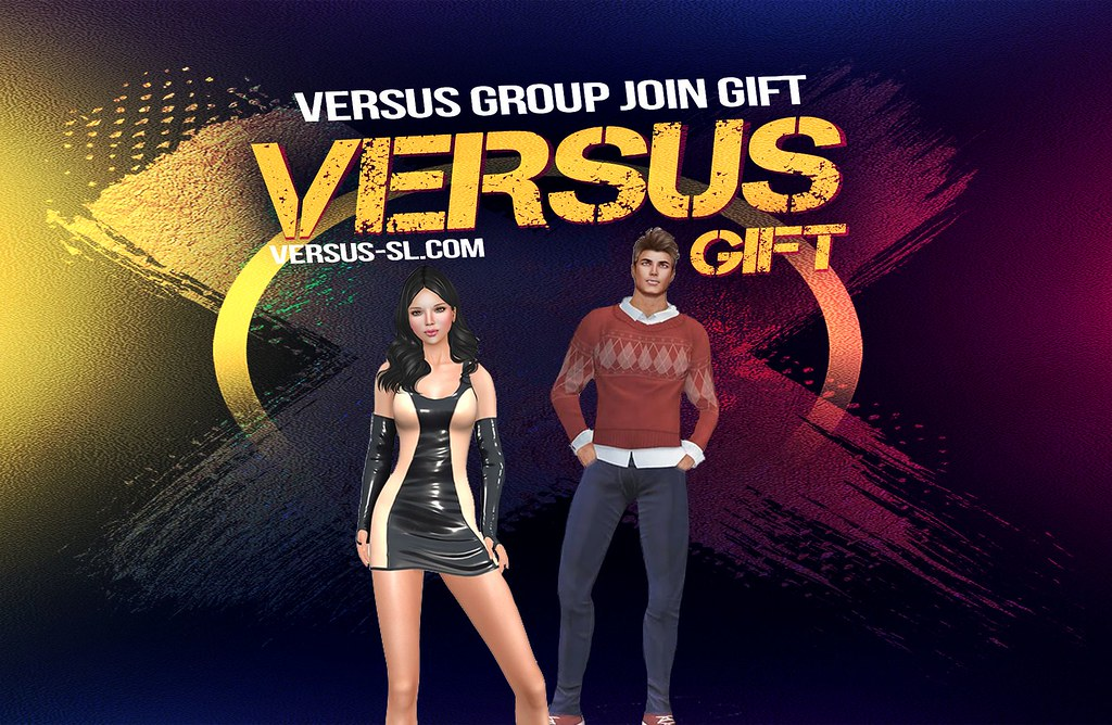 Dress & Outfit For Male & Female October 2018 Group Gift @ VERSUS Event October 2018