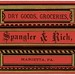 Spangler and Rich, Dry Goods and Groceries, Marietta, Pa. by Alan Mays