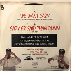 EAZY-E:WE WANT EAZY(JACKET B)