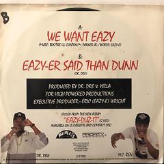 EAZY-E:WE WANT EAZY(JACKET B)