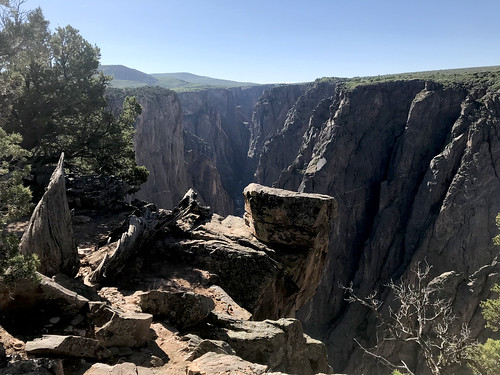 blackcanyon gunnison nationalpark colorado exclamationpoint