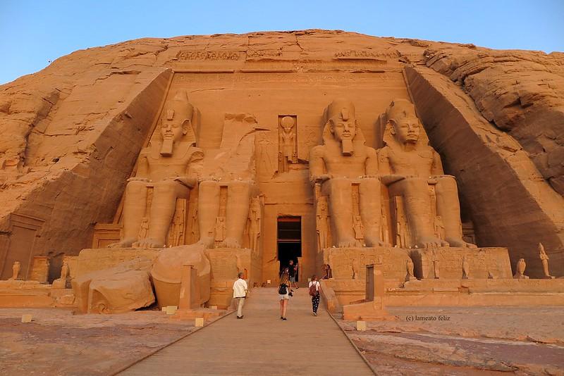 Templo de Ramsés II.Abu Simbel