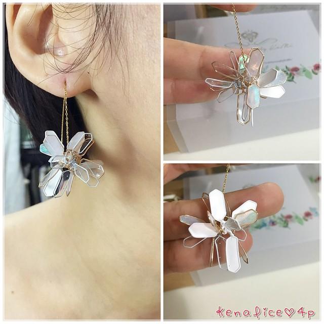 手工樹脂耳環3