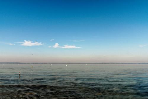 View towards the German shore