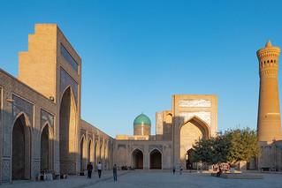 Innenhof der Kalon-Moschee, Buchara