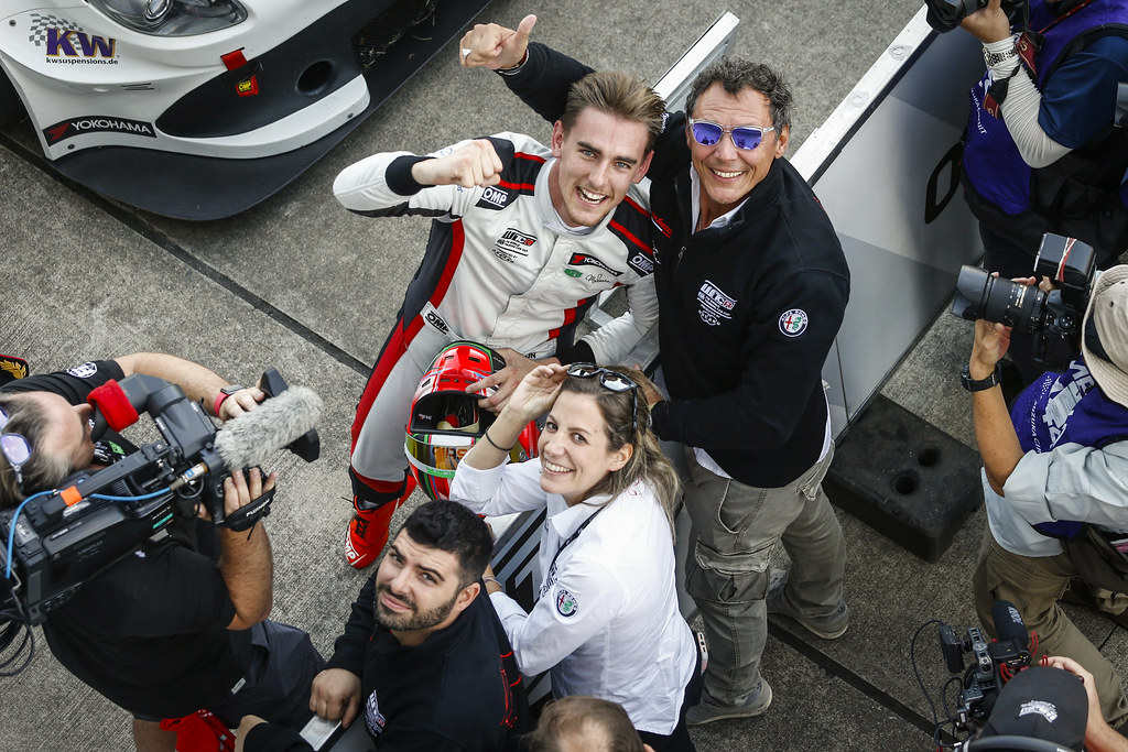 CECCON Kevin (ITA), Alfa Romeo Giulietta TCR, Mulsanne Srl, portrait CERRUTI Michela, Team Mulsanne, Team Manager, portrait during the 2018 FIA WTCR World Touring Car cup of Japan, at Suzuka from october 26 to 28 - Photo Francois Flamand / DPPI