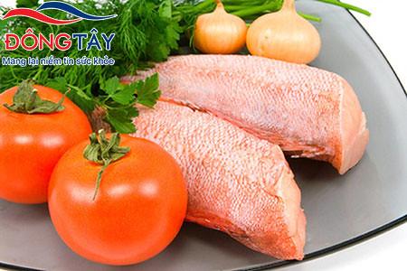 Tiểu đường tuýp 2 nên ăn cá ít nhất 2 lần mỗi tuần.