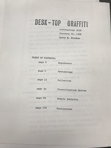 Desk-Top Graffiti Title Page