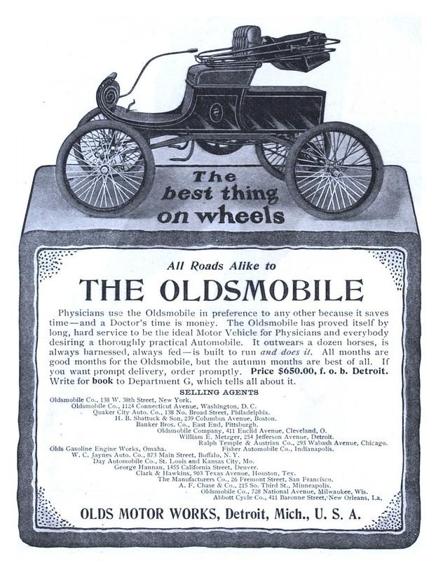 1902 Oldsmobile