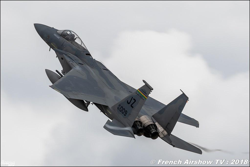 McDonnell Douglas F-15 Eagle Review eaa oshkosh airventure airshow meeting aerien