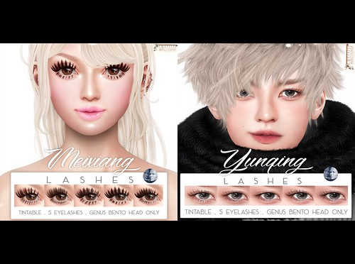 Meixiang & Yunqing Lashes @ The Seasons Story