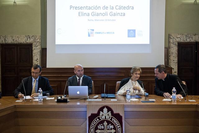 """Presentazione della Cattedra """"Elina Gianoli Gainza"""""""