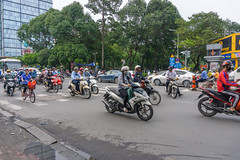District 1 Traffic in Ho Chi Minh City