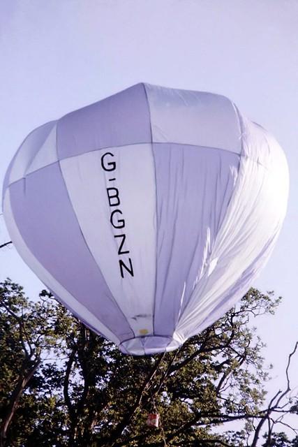 G-BGZN   Wallingford WMB.2 Windtracker Model Balloon [005] Marsh Benham~G 06/01/1980