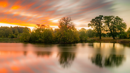 Sunrise Over Clumber Water 3
