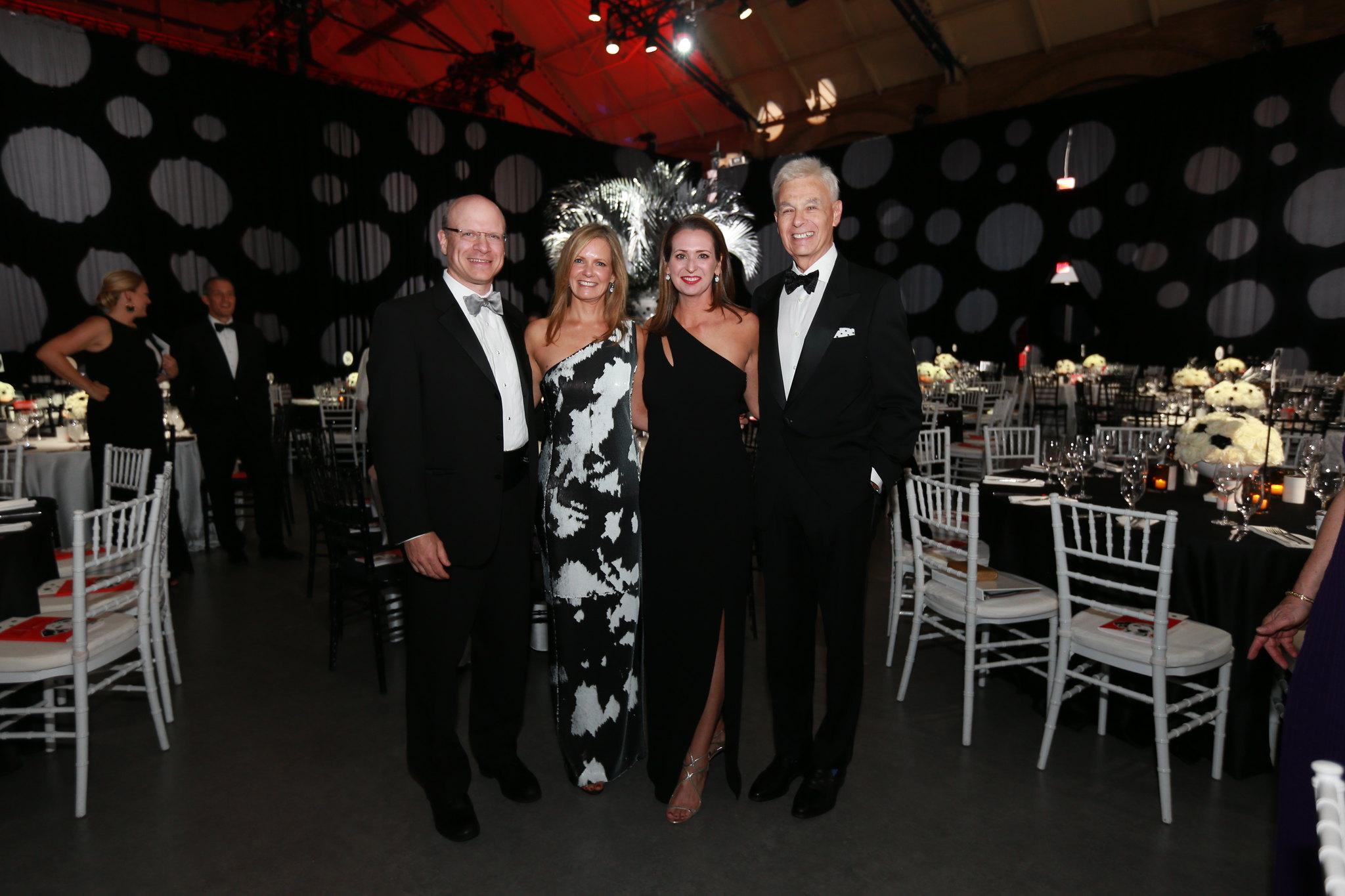 1 Storybook Ball 2018_Dr Allan Goldstein, Sonja Kelly, Jennifer Dolins, Dr Ronald Kleinman_W2ST9538