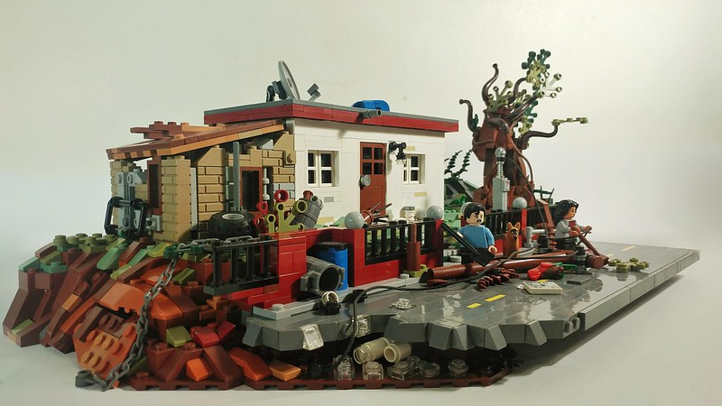 Hurricane Maria LEGO MOC (With Notes)