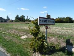 Sainte Montaine Eté2016 city limit sur la D180