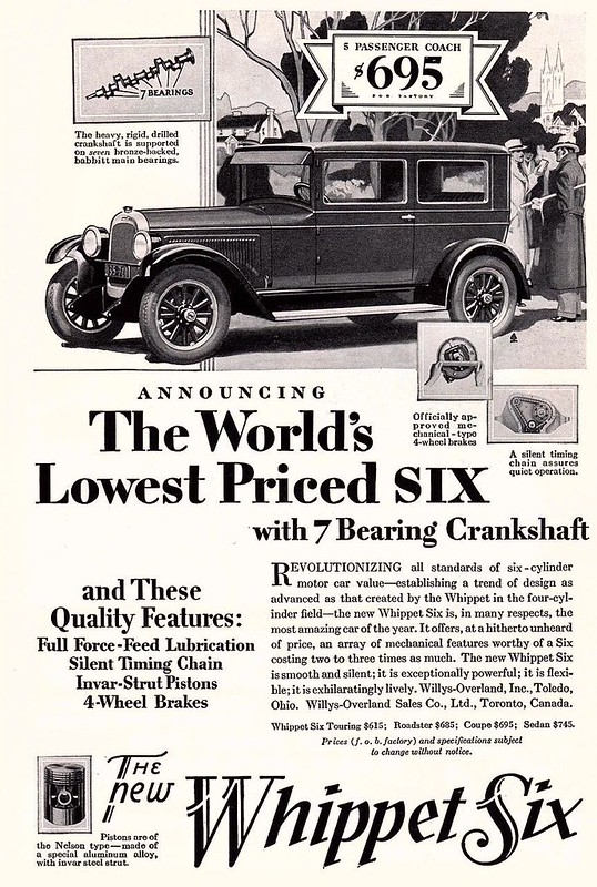 1928 Whippet Six