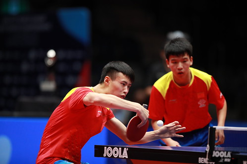 Junior Boys' Doubles Finals at the2018 World Junior Table Tennis Championships