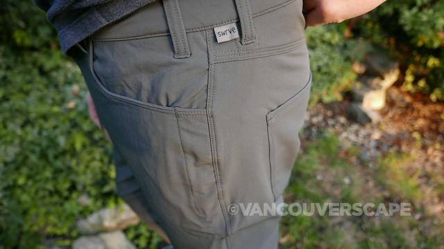 swrve TRANSVERSE trousers