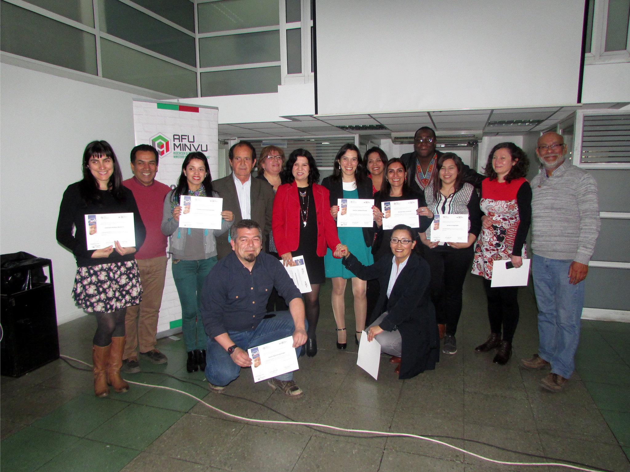 Ceremonia de graduación Curso Básico idioma Créole organizado por AFUMINVU – 18 Octubre 2018